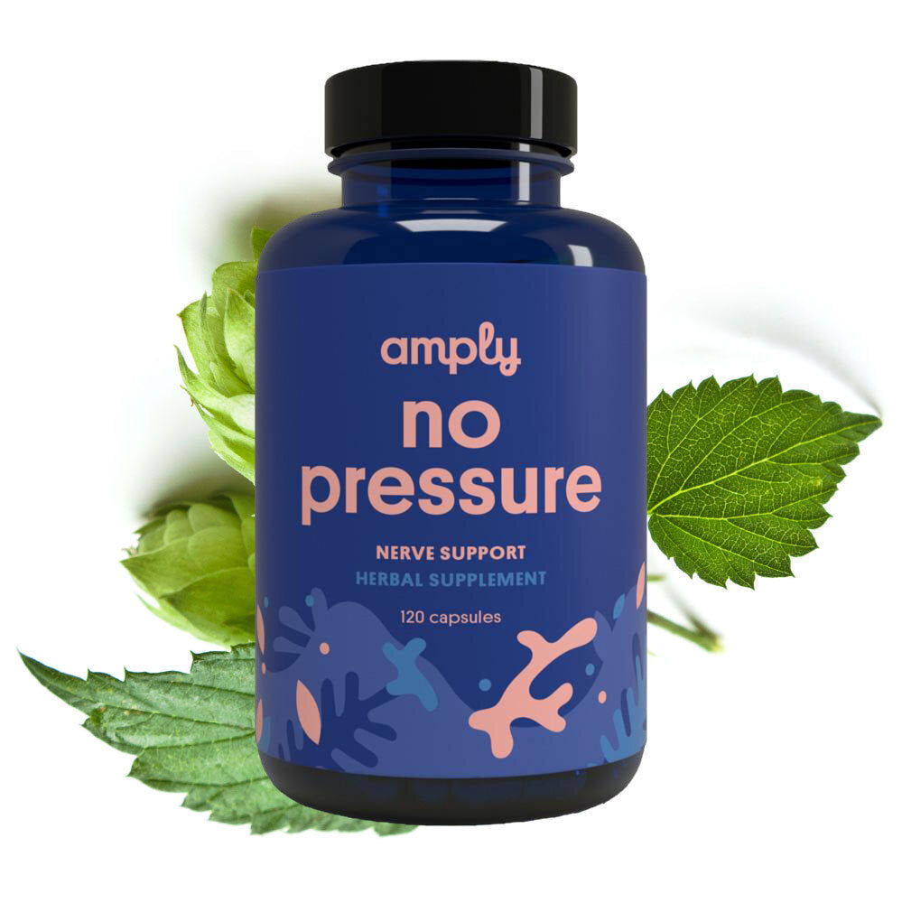 No Pressure - Amply Blends | Herbal Solutions | Organic Supplements | Pain Management |