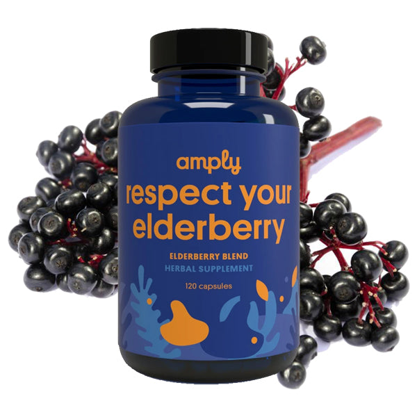 Respect Your Elderberry - Amply Blends | Herbal Solutions | Organic Supplements | Pain Management |