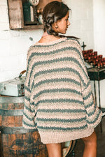 Load image into Gallery viewer, Autumn Is Calling Sweater // Olive