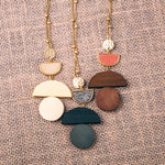 Load image into Gallery viewer, Druzy Accent Necklace