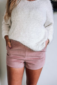 Smell The Roses Shorts // Pink