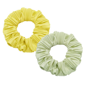 Pleated Hair Scrunchie