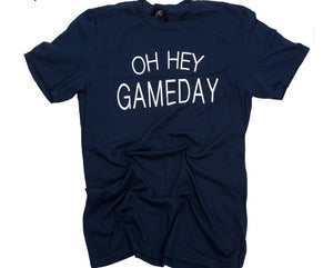 Oh Hey Gameday Short Sleeve Top