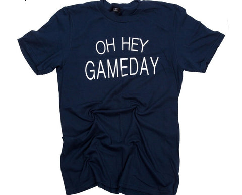 Oh Hey Gameday Short Sleeve Top - SALE