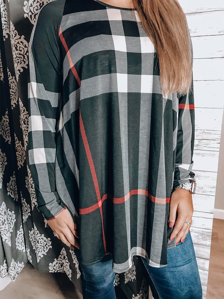 Tis the Holiday Long Sleeve Top - PLUS