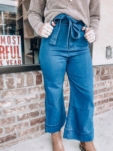 Bow More Excuses Jeans