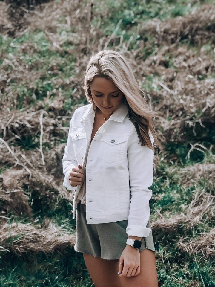 White Out Long Sleeve Jacket