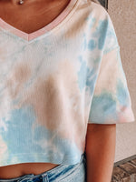 Load image into Gallery viewer, Tie-Dye Vibes Short Sleeve Tee