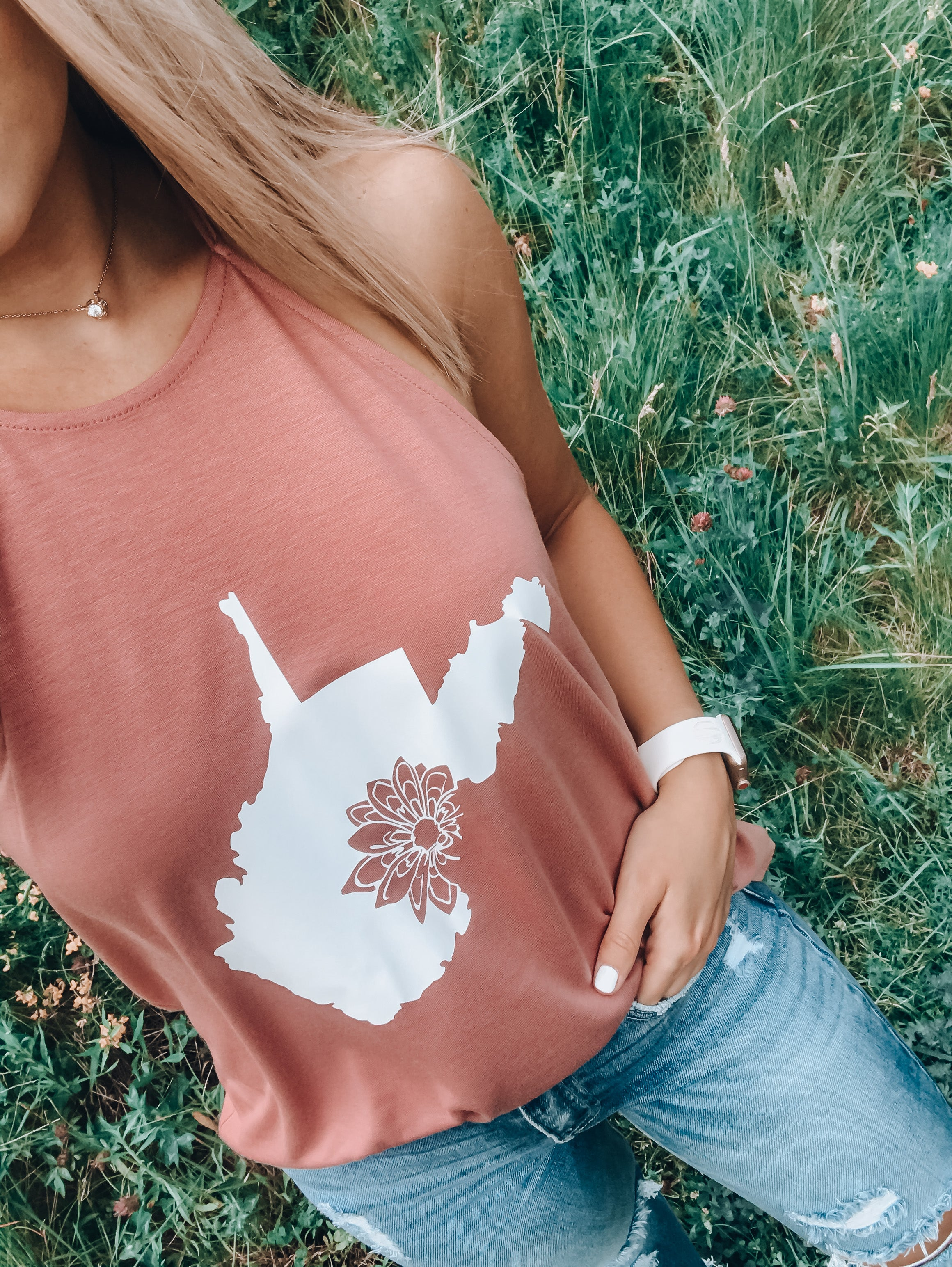Homegrown WV Tank // Mauve