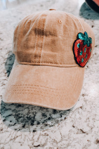 Strawberry Fields Hat // Mustard