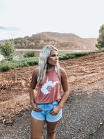 Load image into Gallery viewer, Homegrown WV Tank // Mauve
