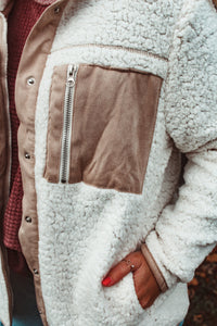 Cozier Here Jacket // Cream