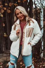 Load image into Gallery viewer, Cozier Here Jacket // Cream