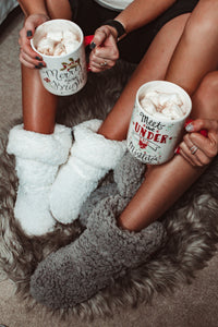 Dose of Cozy Slippers // Ivory