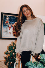 Load image into Gallery viewer, Cocoa Smiles Sweater // Light Tan