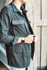 Load image into Gallery viewer, Going Glamping Jacket // Black