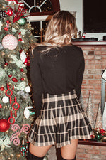 Load image into Gallery viewer, XOXO, CC Skirt // Tan