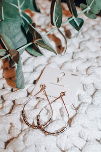 Happy Hour Earrings // Gold