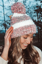Load image into Gallery viewer, Winter Rush Beanie // Rose
