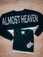 Load image into Gallery viewer, Almost Heaven Long Sleeve Jersey // Navy