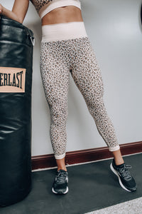 Out In The Wild Leggings // Beige