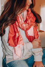 Load image into Gallery viewer, Love On The Weekend Scarf // Pink