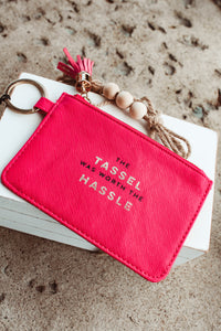 Id Holder Bag // Tassel