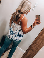 Load image into Gallery viewer, Cotton Candy Crazy Tank // Navy