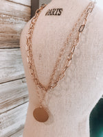 Load image into Gallery viewer, Chain Layer Necklace // Gold