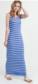 Load image into Gallery viewer, Stripes on Stripes Dress - SALE