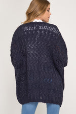 Load image into Gallery viewer, Call Knit a Day Sweater