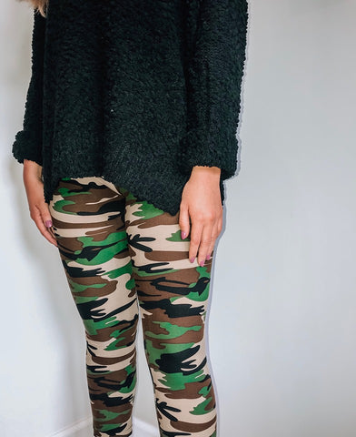 Now You See Me Camo Legging