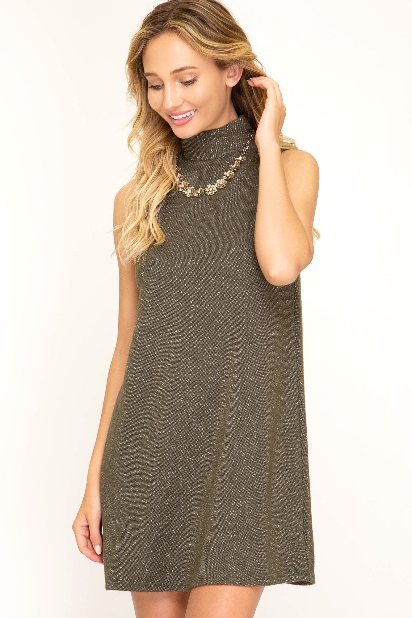 Hint of Shimmer Dress