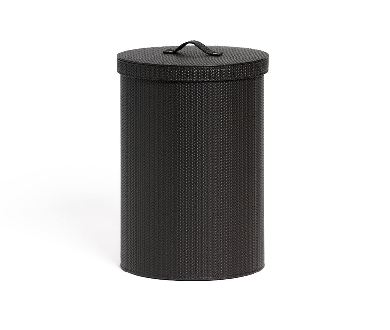 Round Paper Bin with Lid