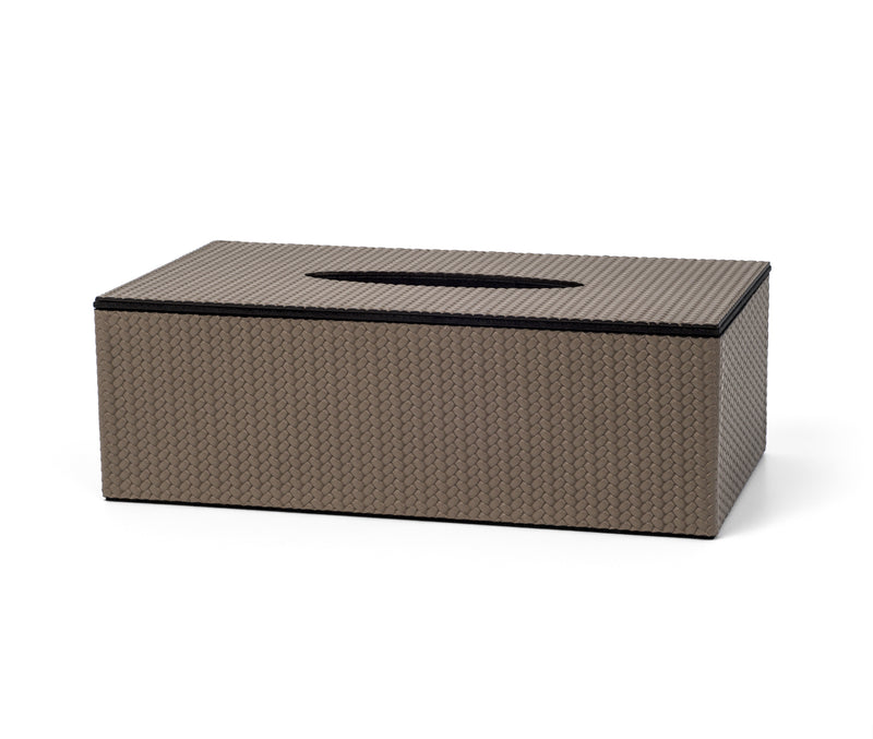 Rectangular Tissue Box with Magnetic Lid