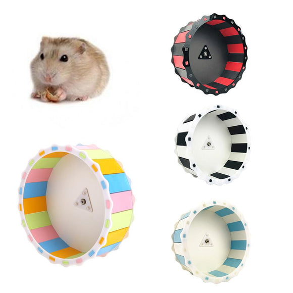 Silent Roller Hamster Running Exercise Mouse Mice Sports Wheel Toy Pet Supplies