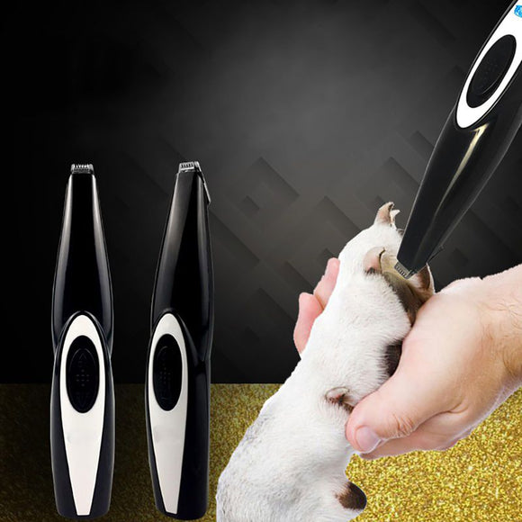 2019 New Dog Hair Trimmer USB Rechargeable Professional Pets Hair Trimmer for Dogs Cats Pet Hair Clipper Grooming Kit