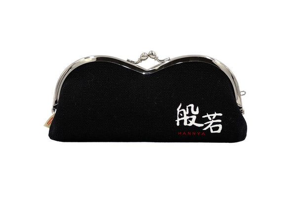 pile type glasses case Traditional japanese performing arts backside