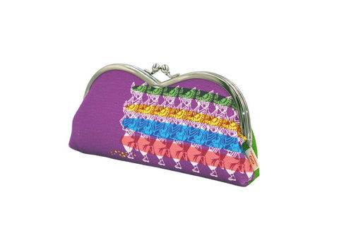 pile type glasses case AWA Dance tilt