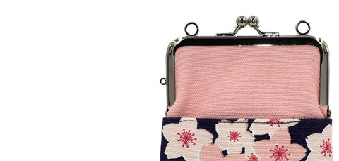 shoulder porch cherry blossoms strap-hole