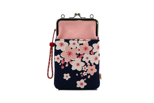 shoulder porch cherry blossoms strap image
