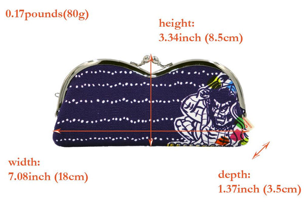pile type glasses case Nebuta Festival spec