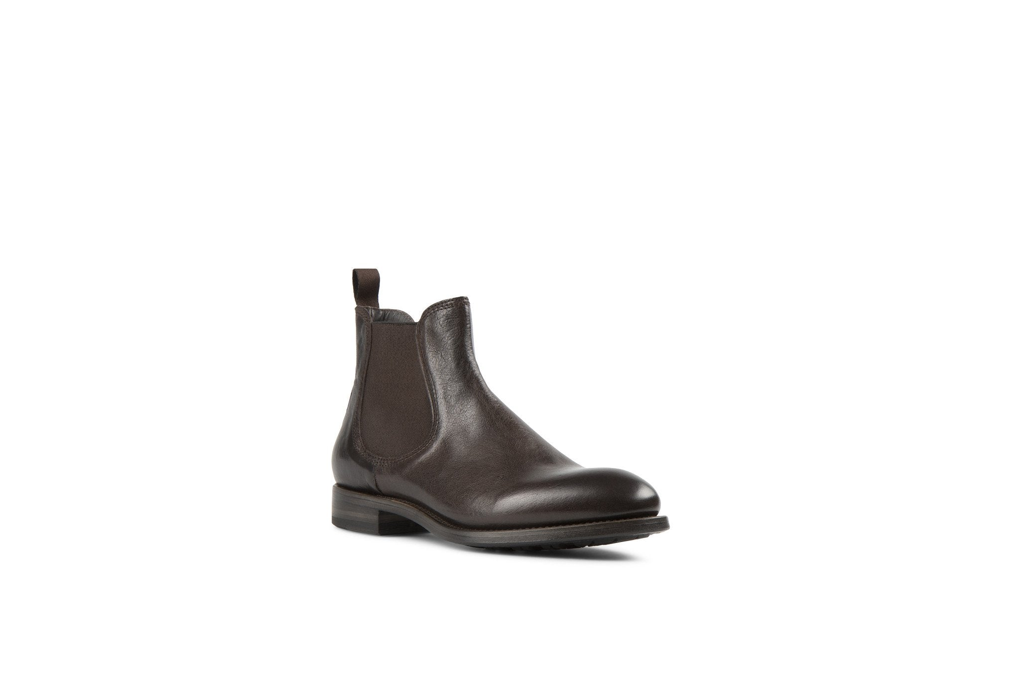 Hanoi Dark Brown Kangaroo Leather Chelsea Boots