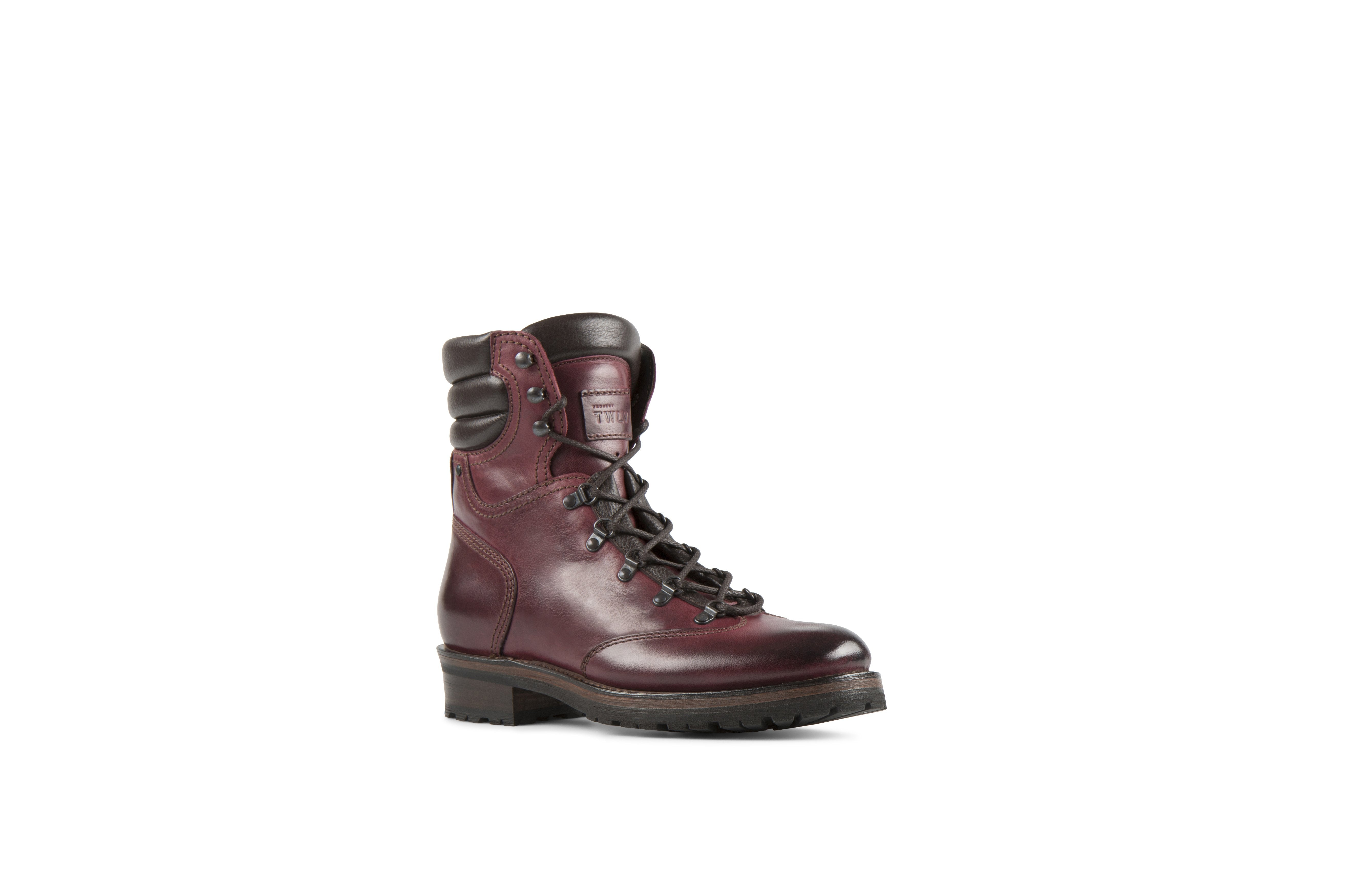 Reflex Burgundy Cordovan Leather Hiker Boot