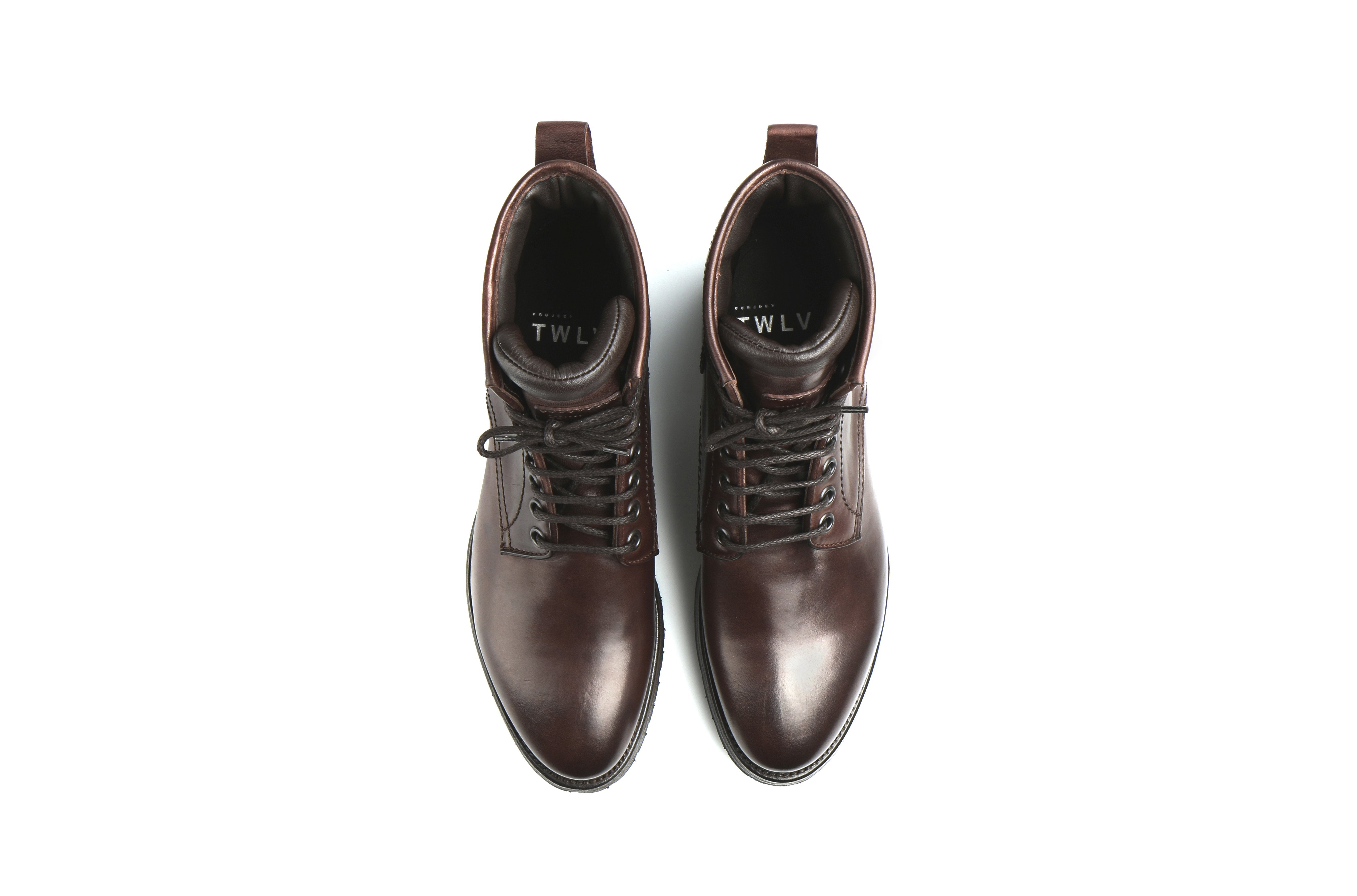 Royal Tmoro Cordovan Leather Logger Boots