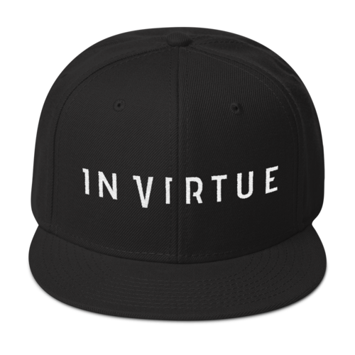 In Virtue - Logo Snapback Hat