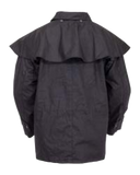 "Short Oilskin, the ""Bush Ranger Jacket""  by Outback Trading Company 5008 Back View"