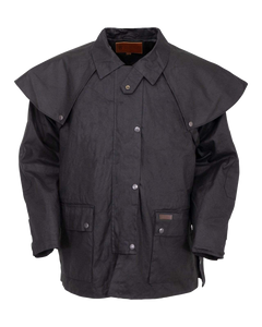 "Short Oilskin, the ""Bush Ranger Jacket""  by Outback Trading Company 5008"