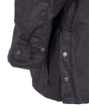 "Short Oilskin, the ""Bush Ranger Jacket""  by Outback Trading Co 5008 Back Snap & Sleeve Snap"