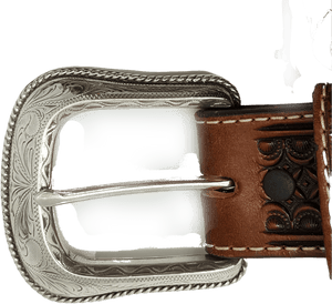 """Diamondback"" Belt by Justin C13925 Buckle"